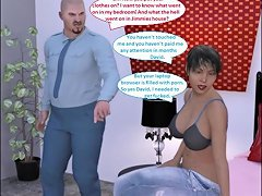 3d Comic Wife Cheats Amp Cuckolds Husband With Young Stud